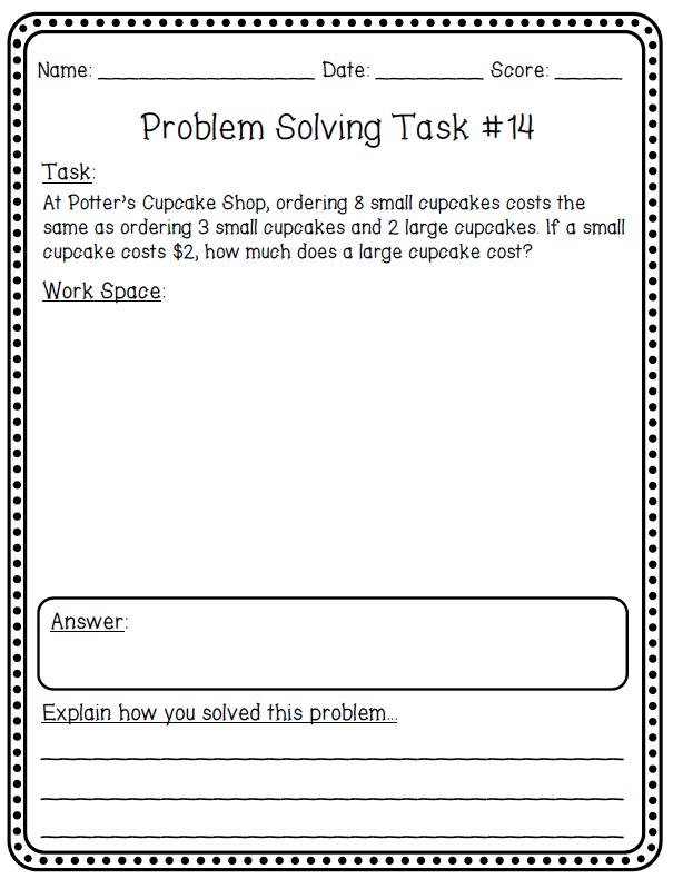 Maths Problem Solving 11 maths problem solving 11 educational – Math Problem Solving Strategies Worksheets