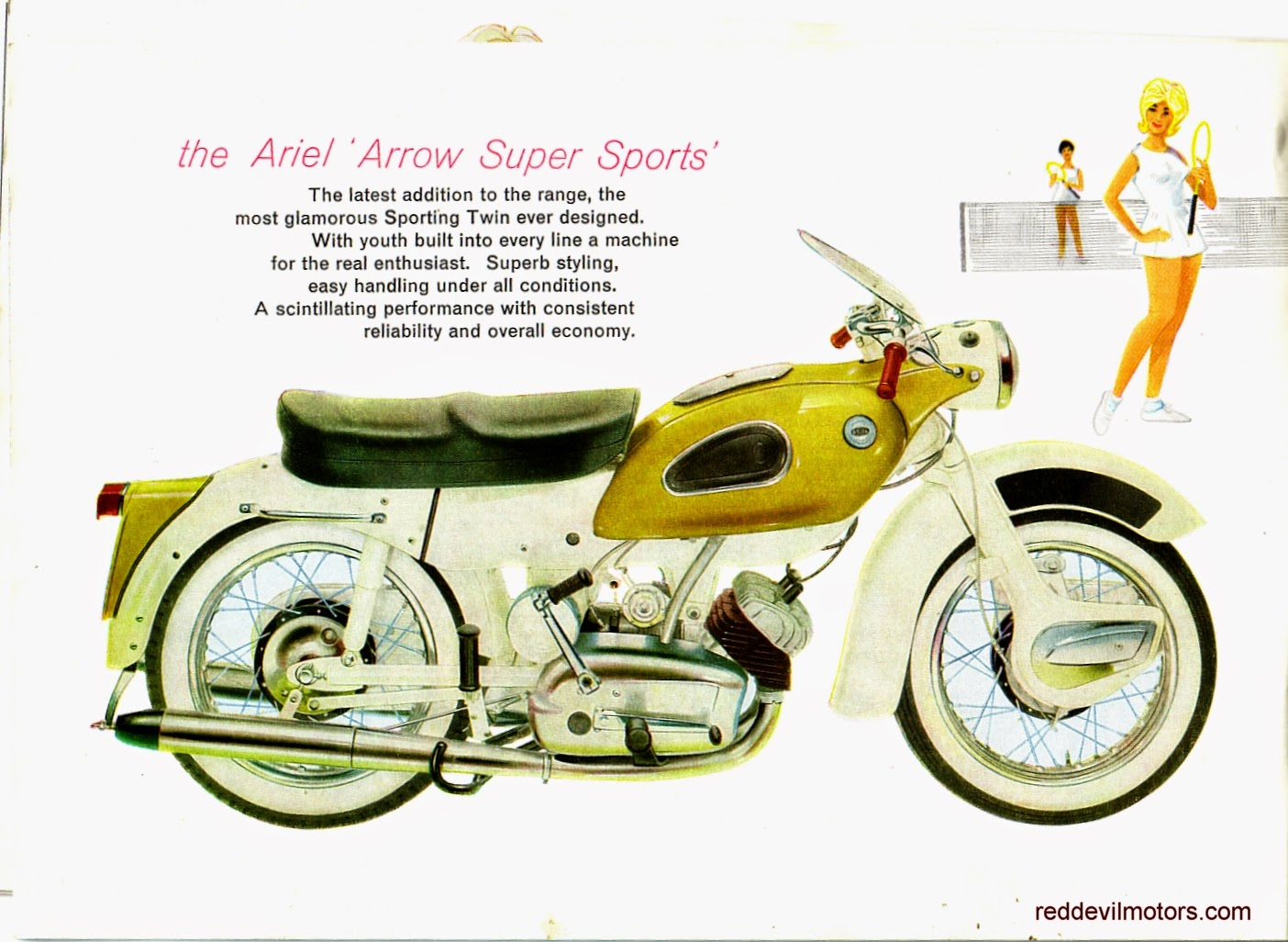 Ariel Arrow and Leader brochure page 7