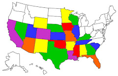 States We've Stayed in as Full Time RVers