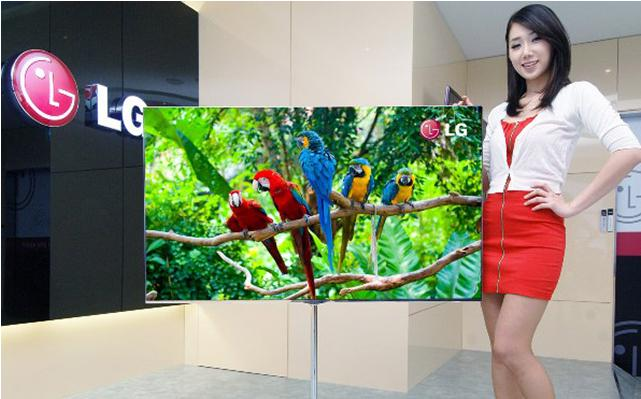 LG OLED 55 Inch TV Colors