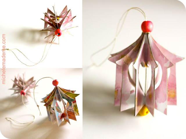 Домики-подвески из открыток Heart+House+Ornament2
