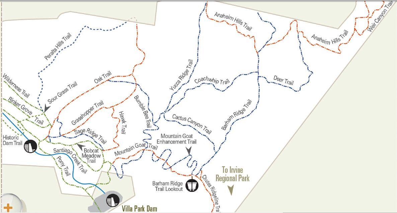 Mountain Biking in Santiago Oaks Regional Park Adventures in