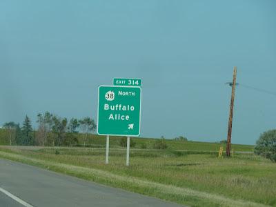 Buffalo Alice sign