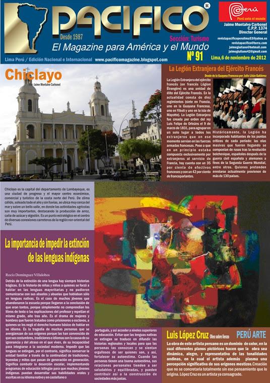 Revista Pacífico Nº 91 Turismo