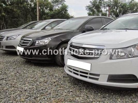 Cho thuê xe du lịch Chevrolet Cruze