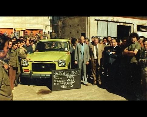 EL RASTROJERO junto a técnicos y obreros en Cordoba. (1952 - 1979)