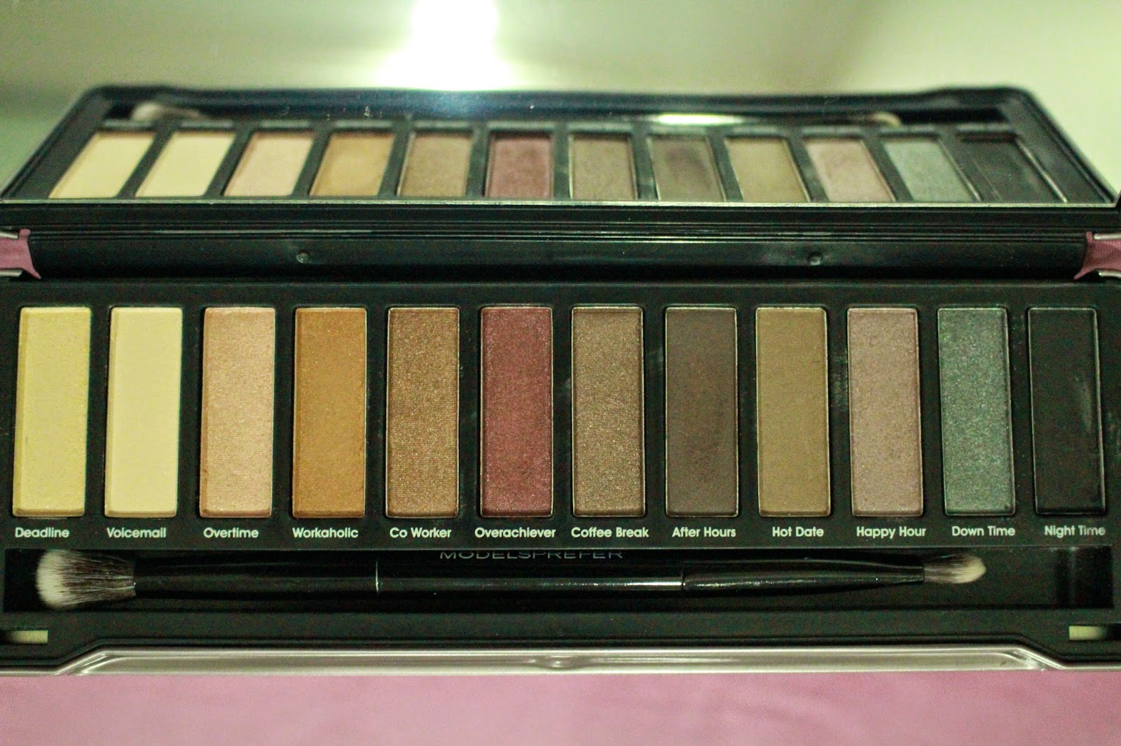 Models Prefer Limited Edition 'Shadows' Holiday Palettes 2014 (Day to Night)