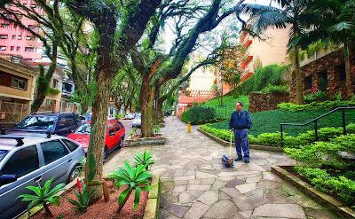 rua mais bonita do mundo poa porto alegre rs brasil rua gonçalo carvalho