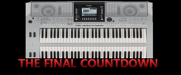 The Final Countdown Psr User