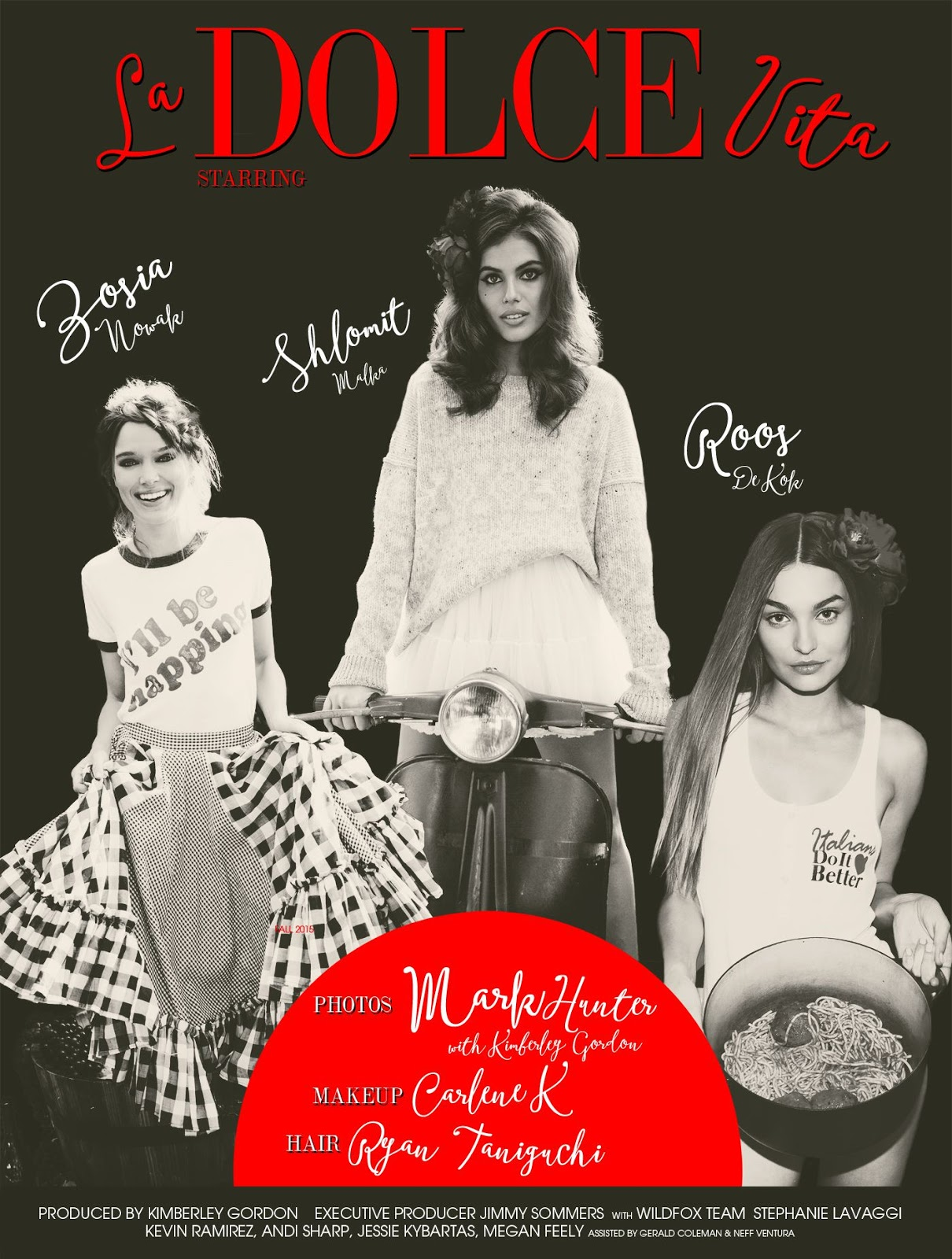 Fashion week Couture wildfox la dolce vita fall lookbook for lady