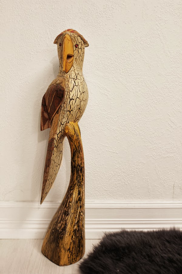 papegoja som ska målas om, diy papegoja