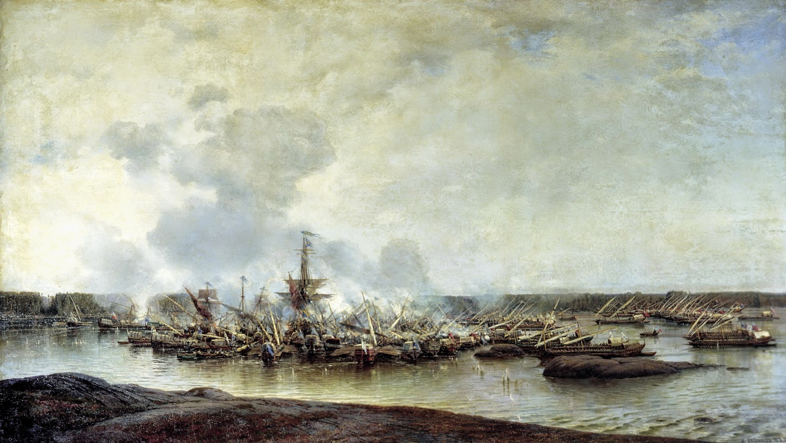 Ханко, Гангут, флот, сражение, Северная война
