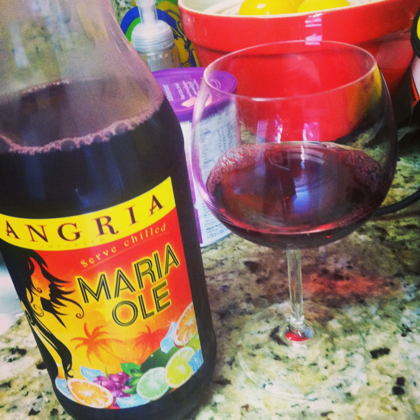 Tales from the east the best sangria s you 39 ve never tasted yet - Plastic sangria glasses ...