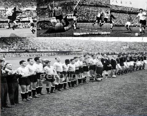 Selección Uruguaya de Fútbol Wc+1954+uruguay+hungria9