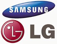 LG e Samsung apresentam TVs curvas 4K de 105 polegadas