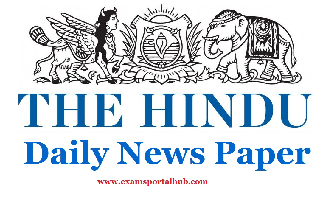 The Hindu Daily Newspaper