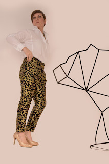 Pretty mercery, diy fashion, diy pants, gold, eulala c'est chic, knipmode, fabric, sewing, naaien