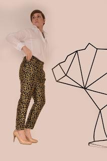 Pretty mercery, diy fashion, diy pants, gold, eulala c'est chic, knipmode, fabric, sewing, naaien
