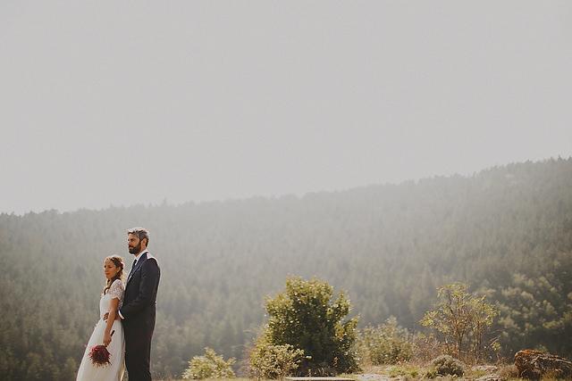 laure sagazan novia vestido rioja boda campestre bosque