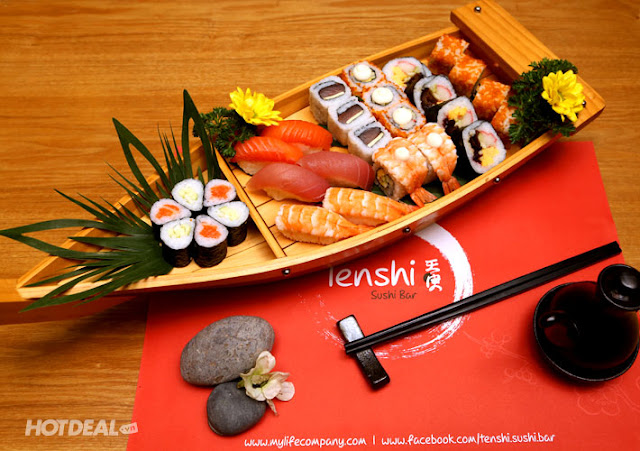 Sushi bar giá rẻ