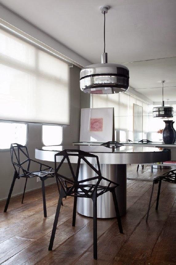 Sala Jantar Mesa Redonda on Industrial Kitchen Design