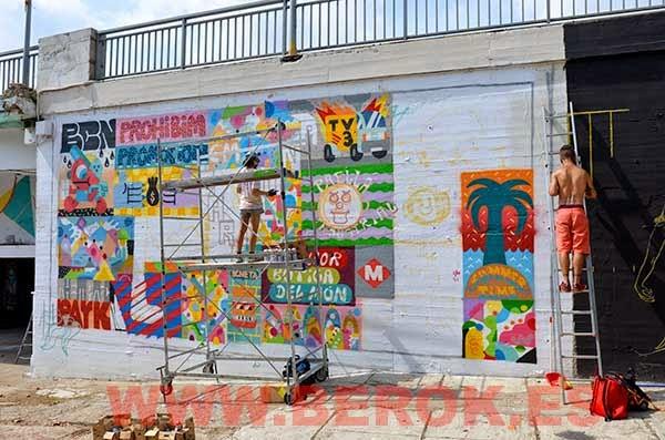 Graffitis Mina