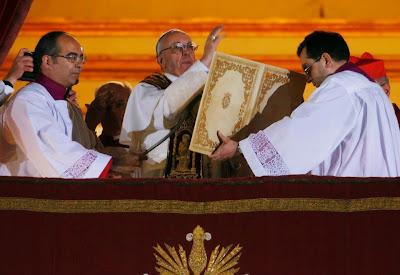 Os primeiros compromissos do Papa Francisco I