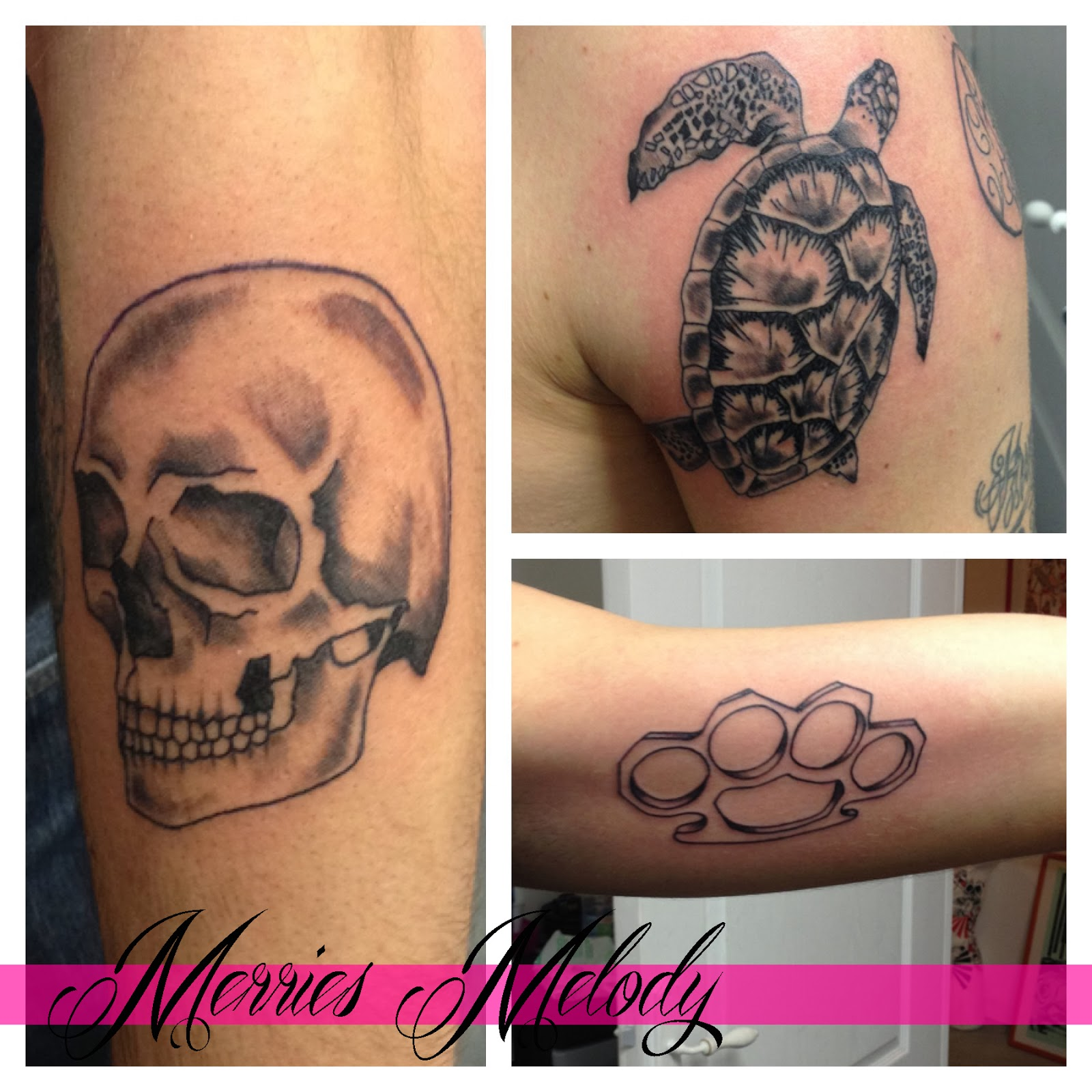 Populaire Merries Melody Tattoo Shop GW57
