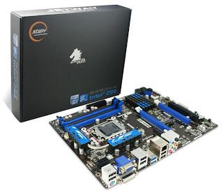 Mainboard Jetway HI09-Z Berbasis Chipset Intel Z68 Express