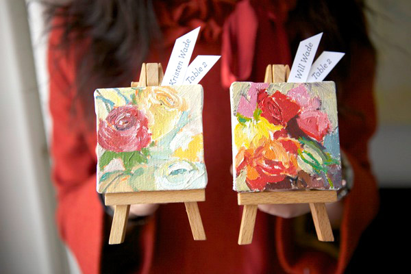 The Bridal BFF A Cute Find DIY Mini Art Easels