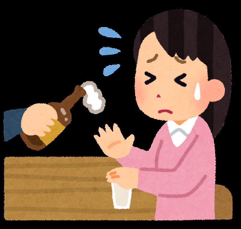 【状況別】飲み会に行きたくない人の割合・断り方・心理