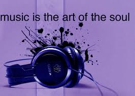 Let the music heal my soul..