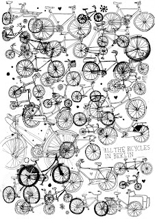 {Art} All the bicycles in Berlin by James Gulliver Hancock
