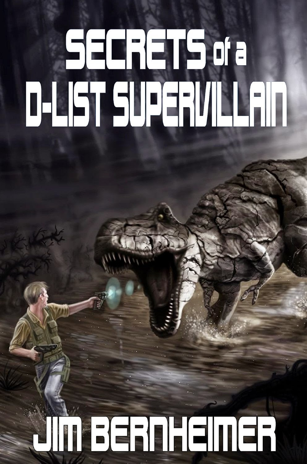 Recently, he's released the third volume in the D-List Supervillain series, Secrets of a D-List Supervillain and I've invited him to speak about it.