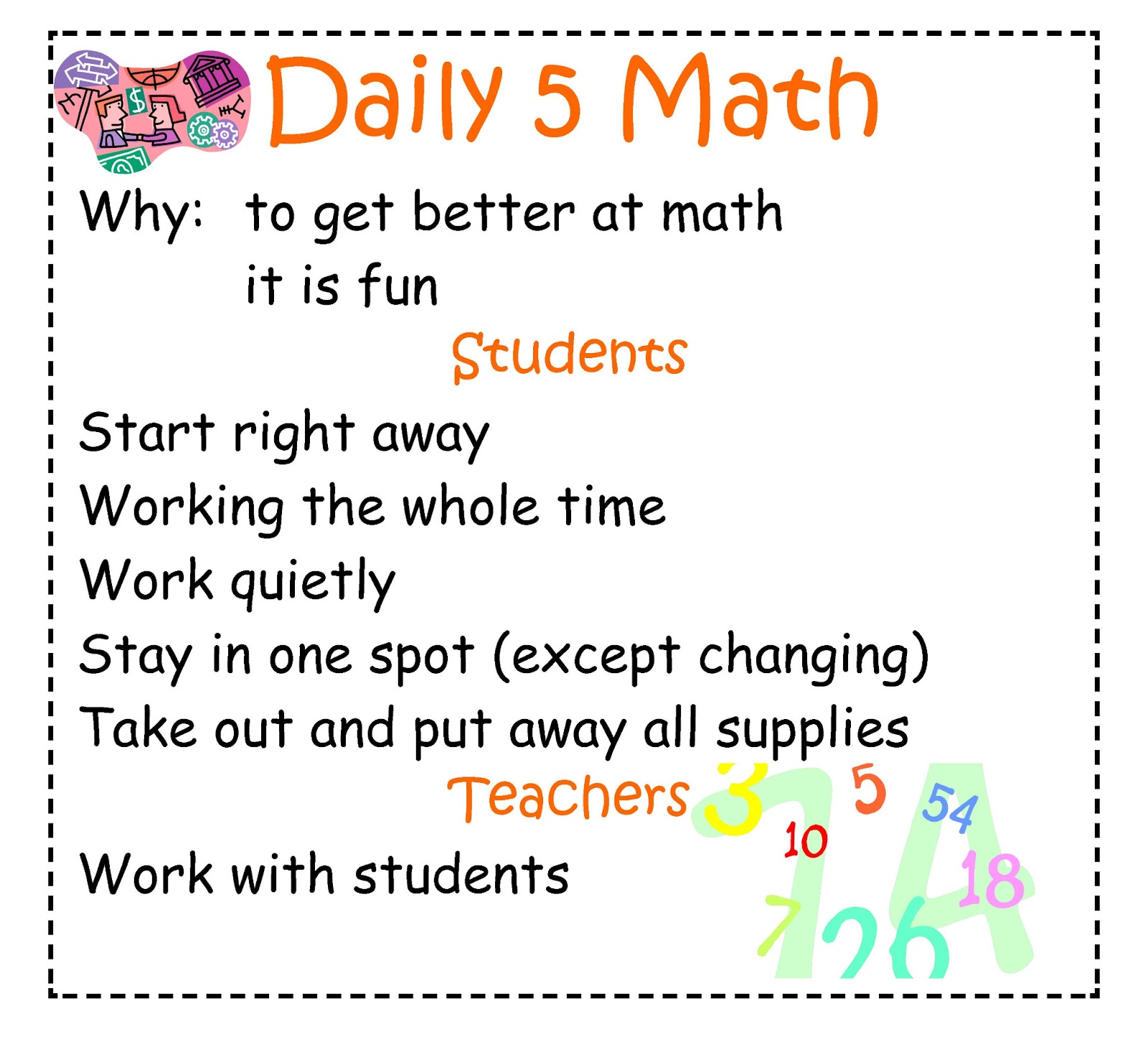 Mrs. Obach\'s ICT Adventures: Daily 5 Math