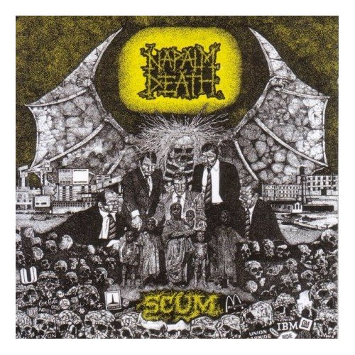 Image result for napalm death scum