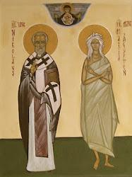 Unsere Patrone: Hl. Nikolaus von Myra und Hl. Maria von Ägypten