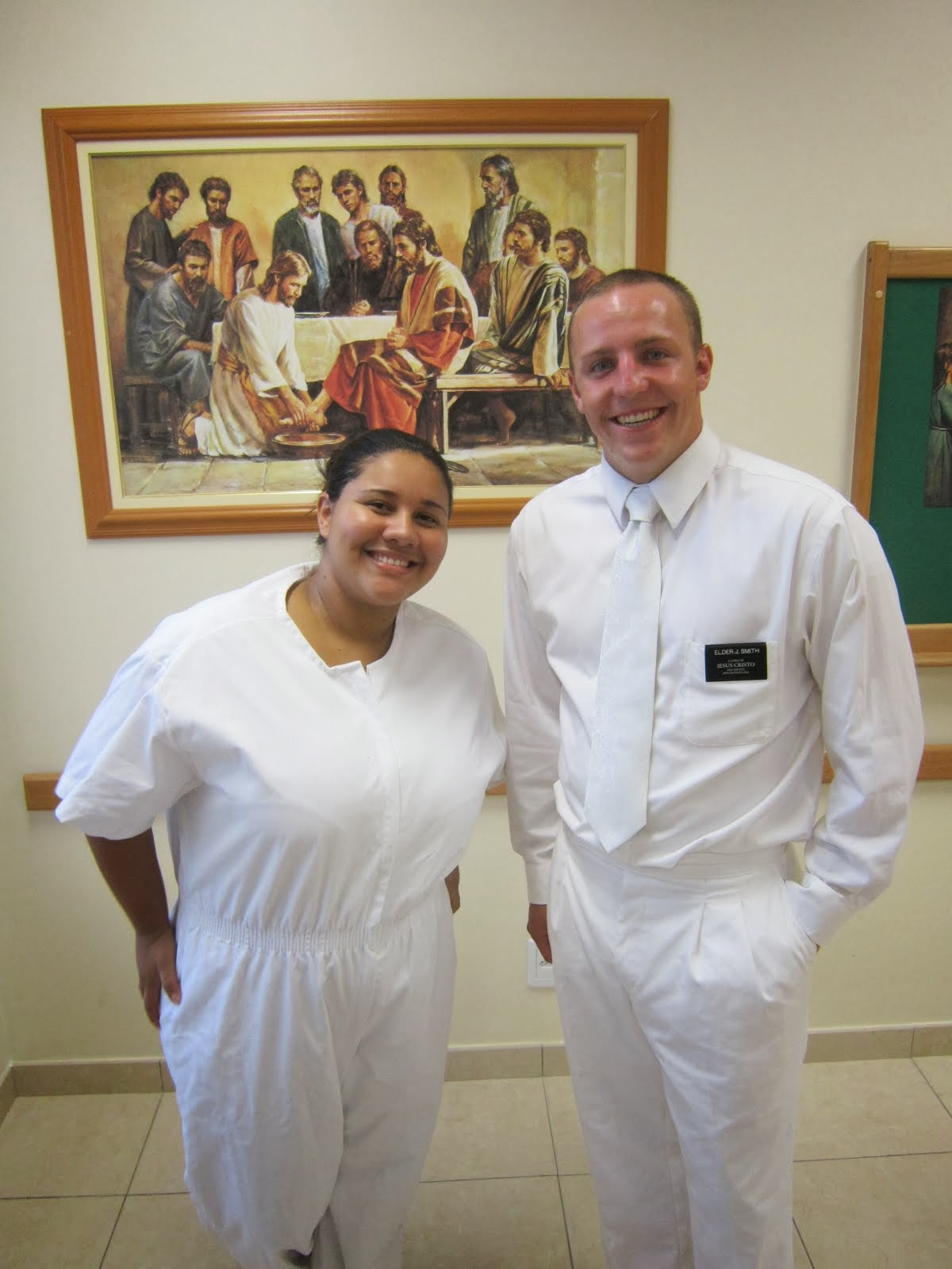 Elder Smith and Natalia