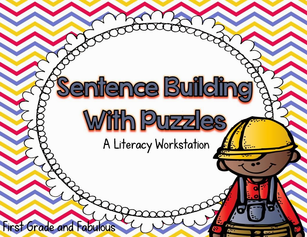 http://www.teacherspayteachers.com/Product/Sentence-Building-with-Puzzles-A-Differentiated-Literacy-Workstation-812414