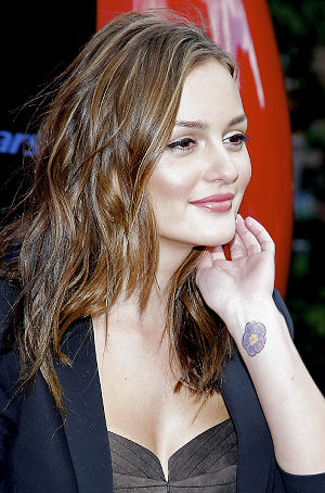 tattoo leighton meester
