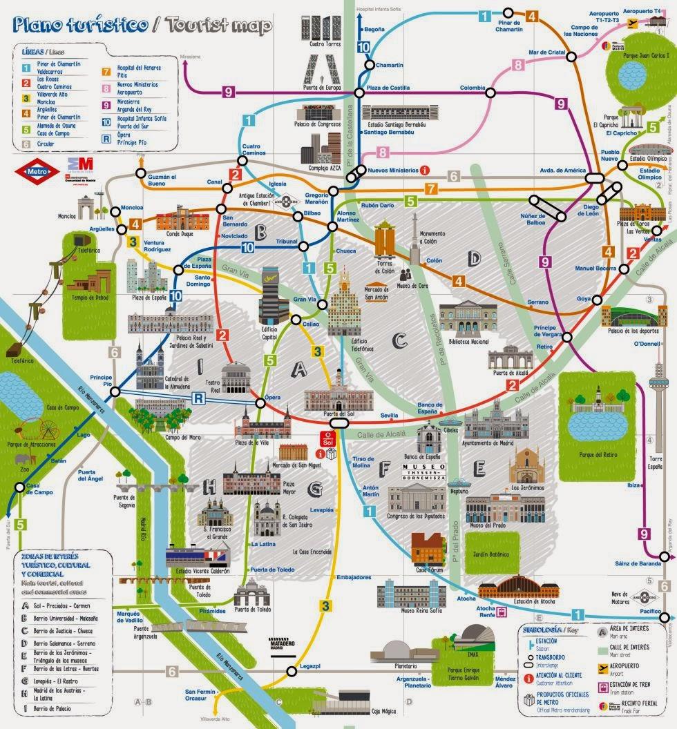 Simple Site Map: Les Quichotteries De Delphine: Ahora Madrid