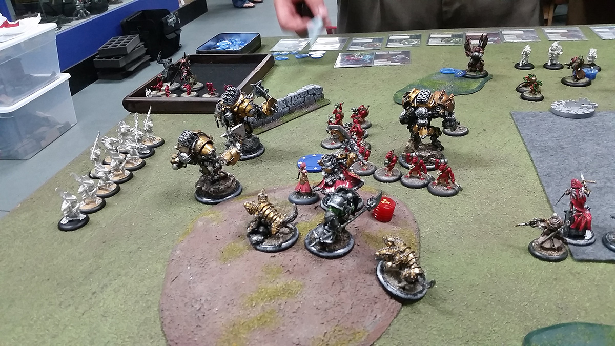 Warmachine Battle Report
