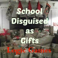 http://ladydusk.blogspot.com/2014/10/school-disguised-as-gifts-logic-games.html