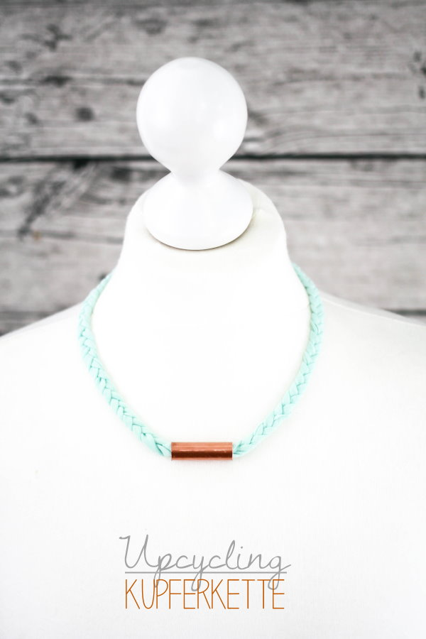 DIY Kupferkette - copper necklace