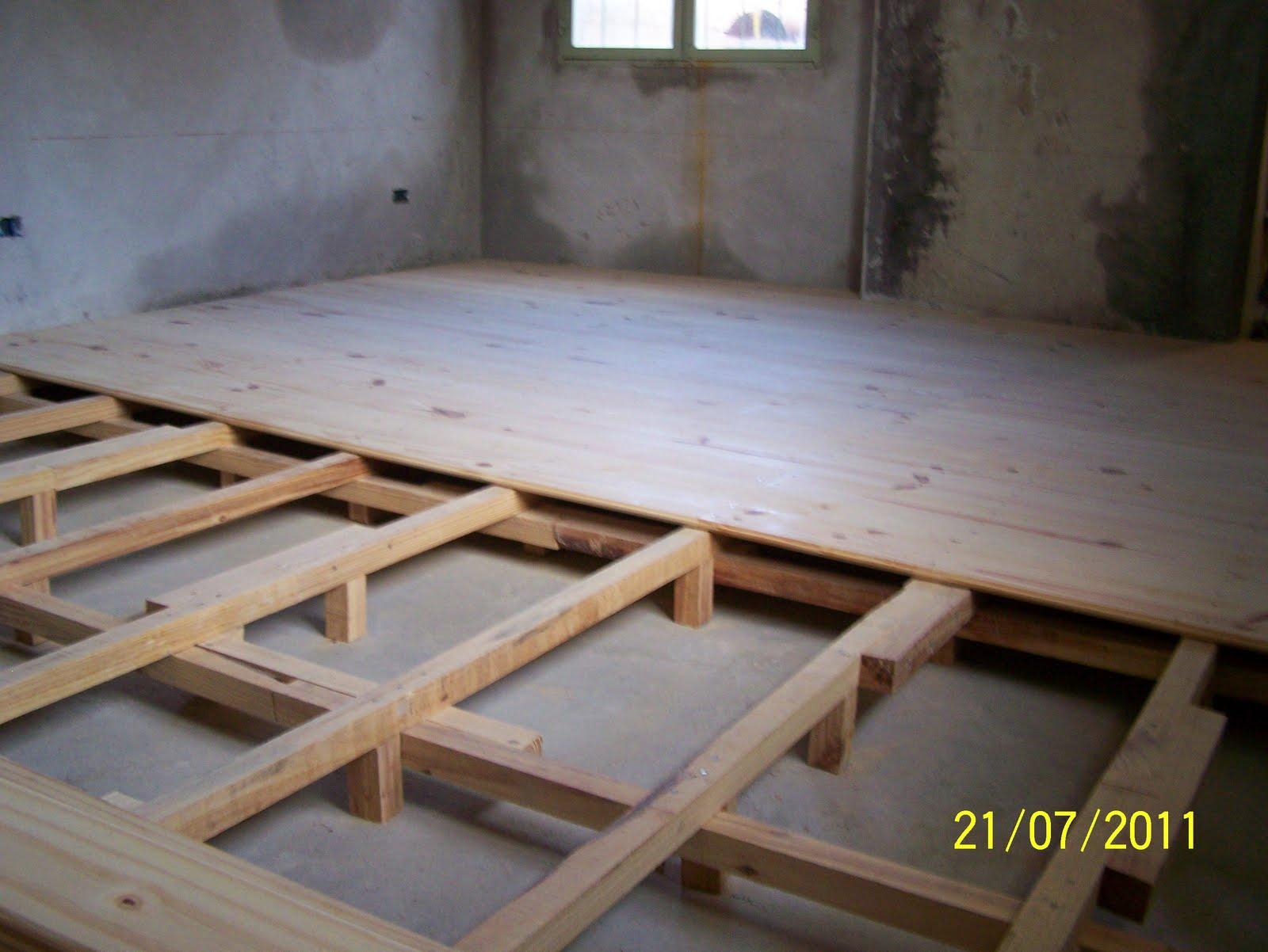 Pisos de madera con machimbre de 1 construcciones livianas for Pisos de bar madera