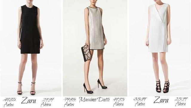 Vestidos Zara MassimoDutti