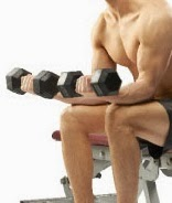 Dumbbell palms-up wrist curl exercise for forearm4
