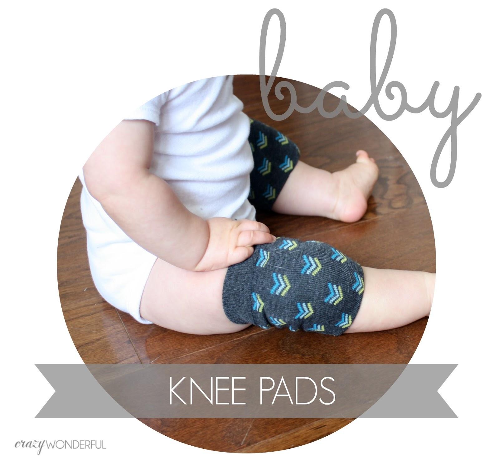 DIY baby knee pads