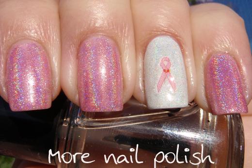Pink Ribbon Day More Nail Polish