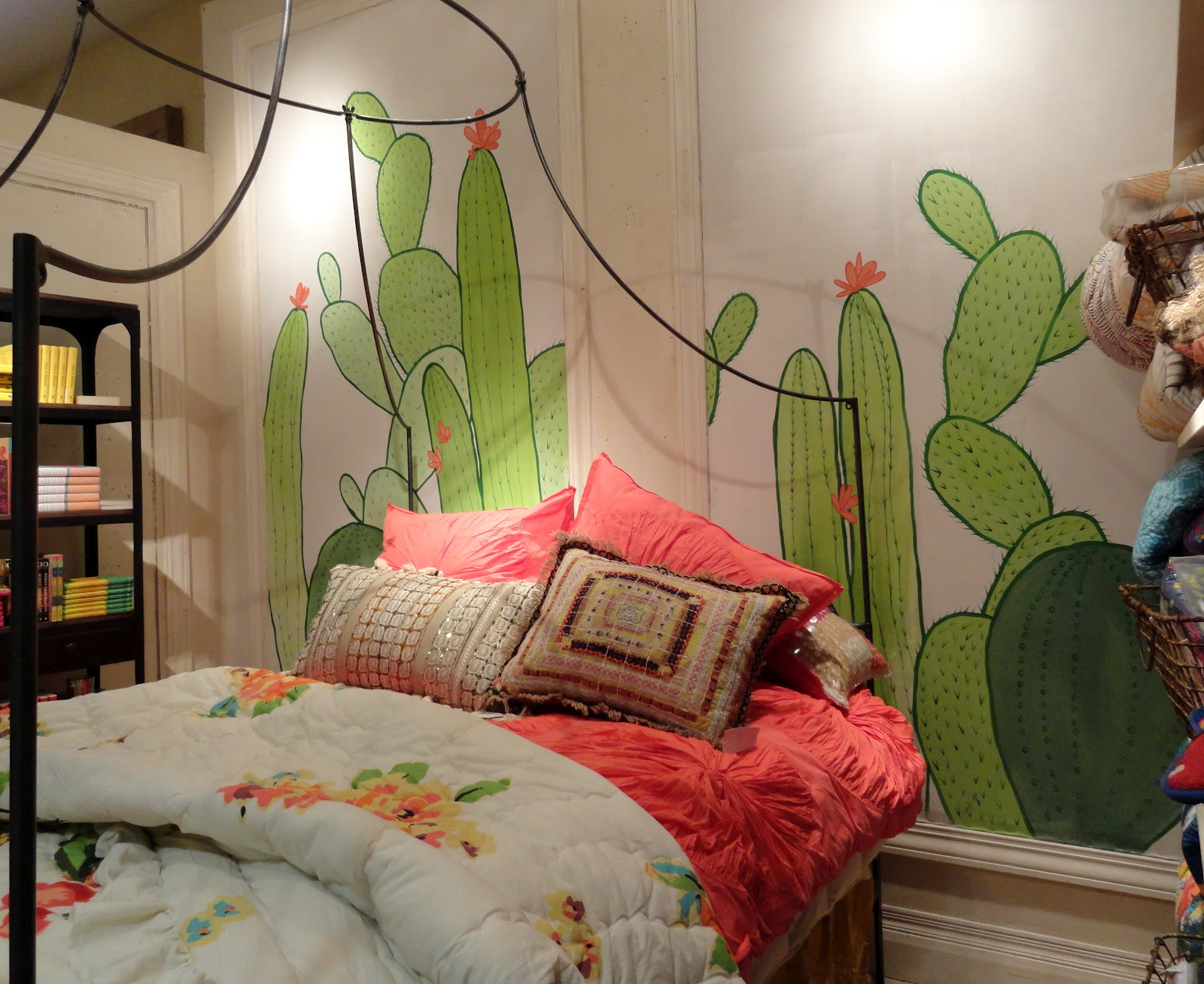 danger garden fabric cactus at Anthropologie